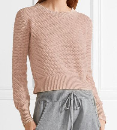 The Elder Stateman Cropped Cashmere Sweater