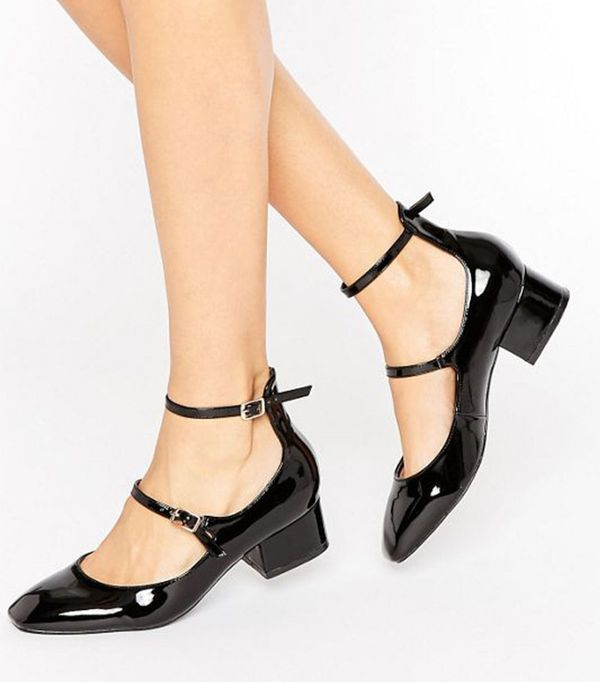 Raid Alexus Ankle Strap Mid Heeled Shoes