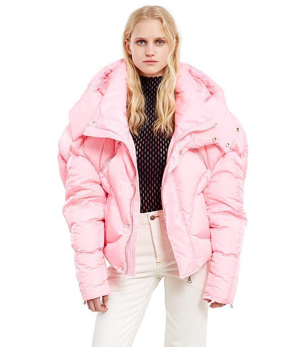 Chen Peng Pink Puff Jacket