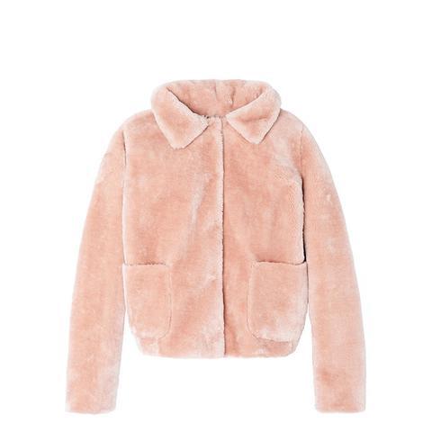La Vie Faux Shearling Jacket