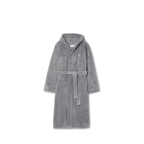 Fleece Hooded Robe