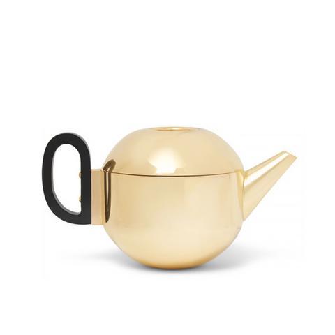 Form Brass Teapot