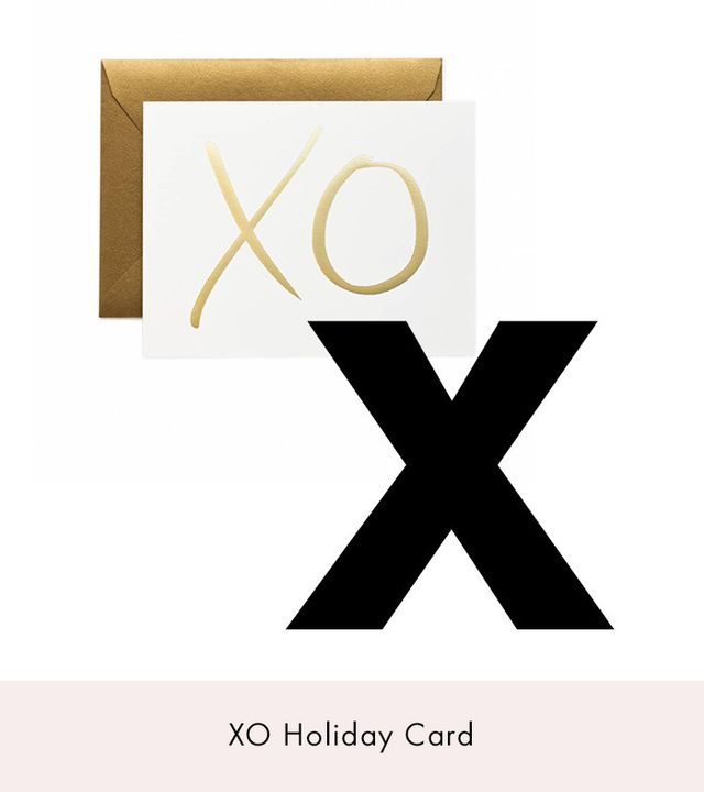 Garance Dore x Rifle Paper Company XO Greeting Card
