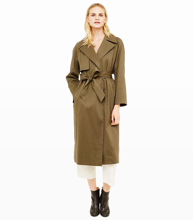 Club Monaco Farrah Trench Coat