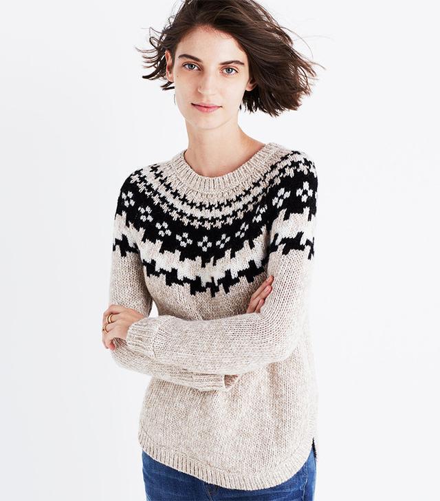 Madewell Driftweave Pullover Sweater