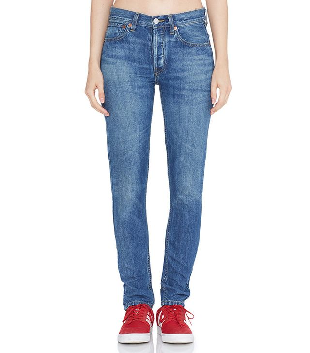 Re/Done Straight Skinny Jeans