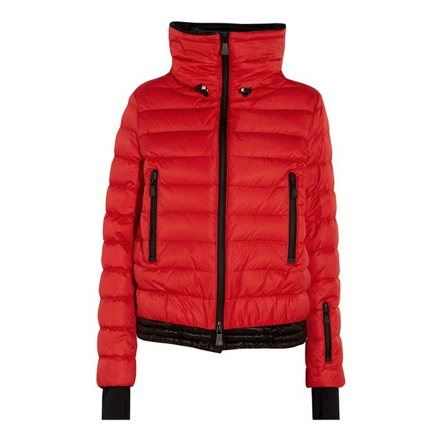 Moncler Grenoble Vonne Hooded Quilted Down Jacket