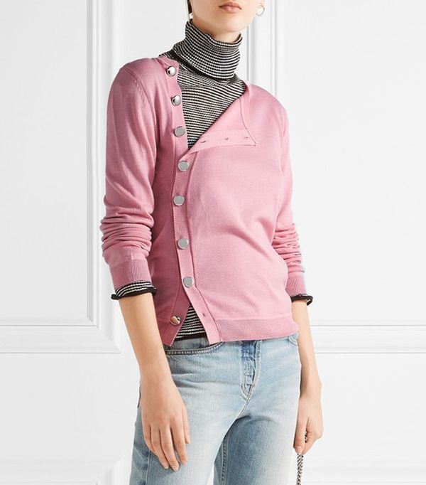Altuzarra Minamoto Button-Detailed Merino Wool Sweater