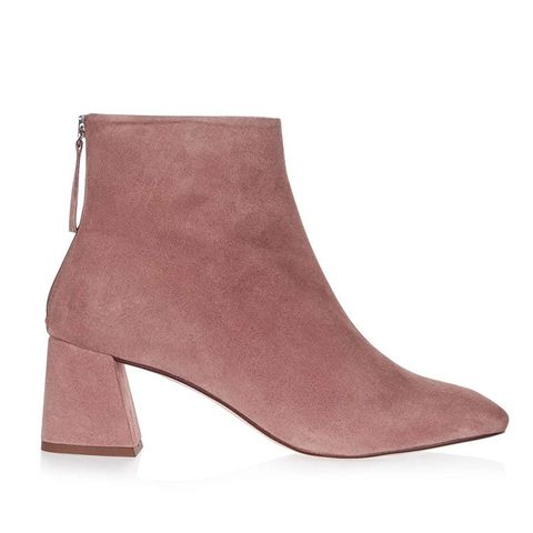 Maggie Suede Ankle Boots