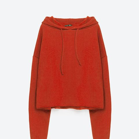 Short Oversized Sweatshirt
