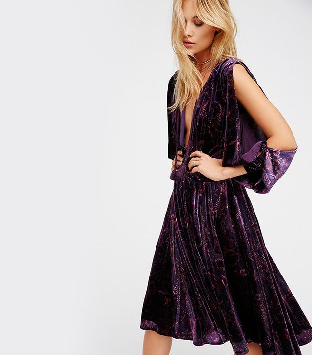 Free People Medusa Midi Dress