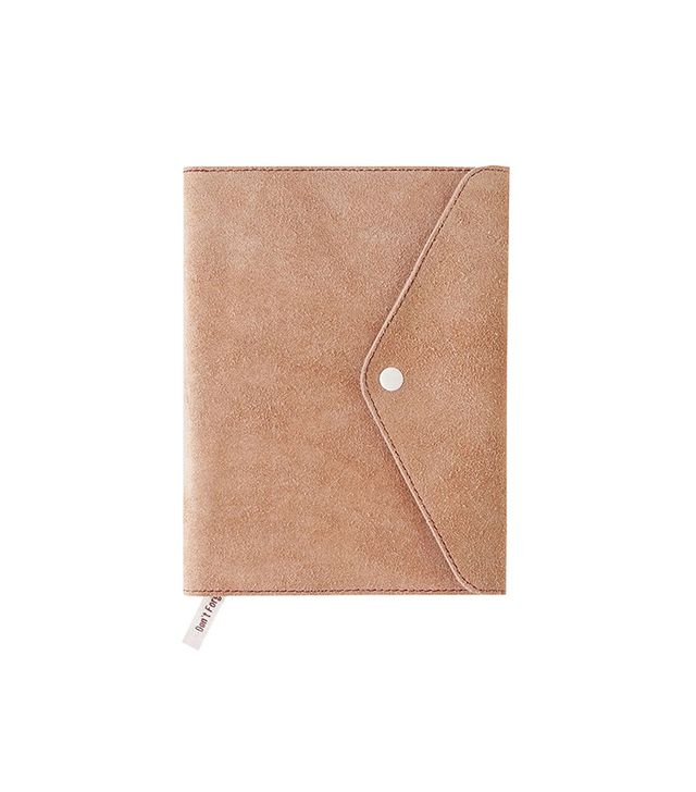 Urban Outfitters Mini Suede Oh Snap Journal