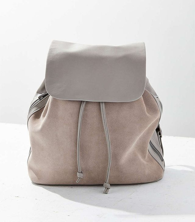 Urban Outfitters Clean Suede Backpack