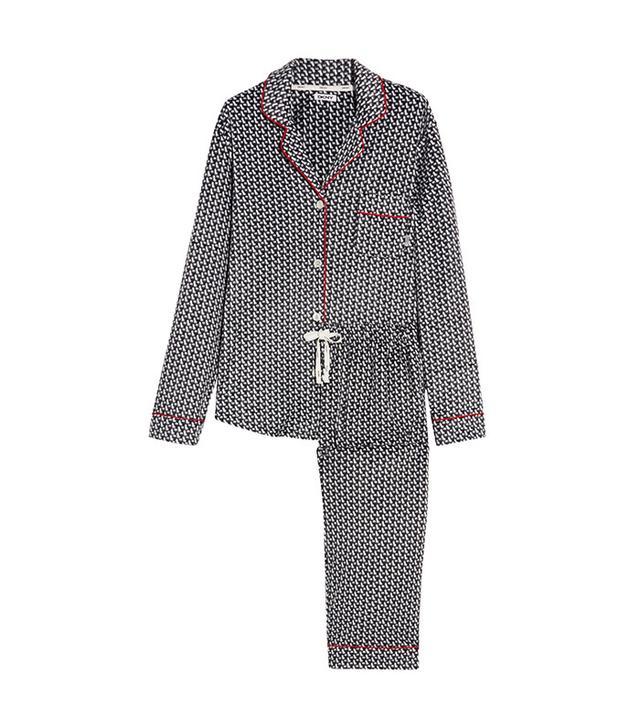 DKNY Printed Velour Pajama Set 55
