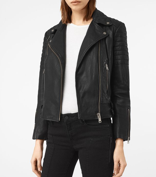 All Saints Papin Leather Biker Jacket