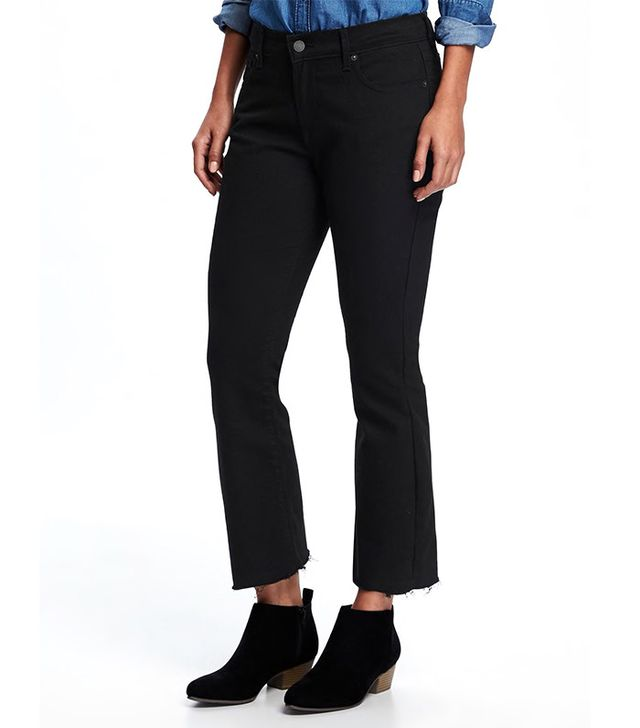 Old Navy Cropped Flare Jeans