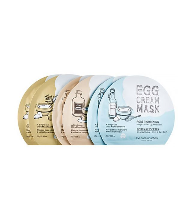 Too Cool for School 1/2 Dozen Egg Cream Mask