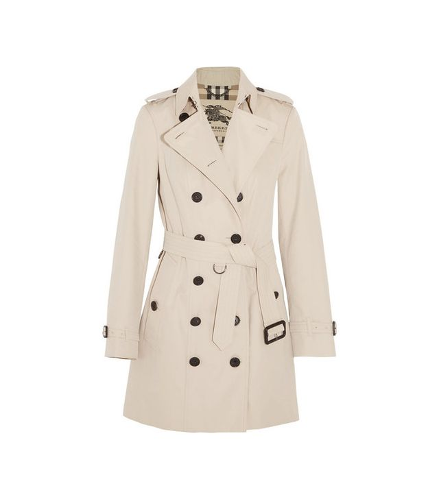 Burberry The Sandringham Mid Cotton-Gabardine Trench Coat