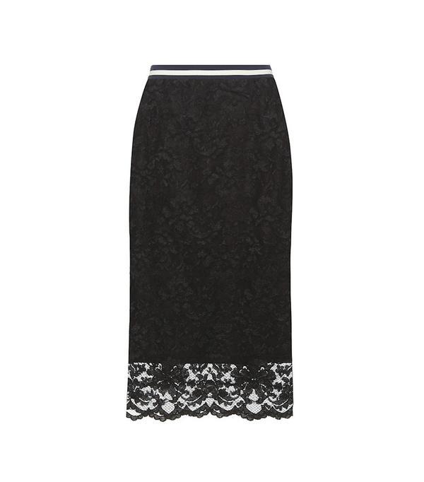 Ganni Ayame Lace Skirt