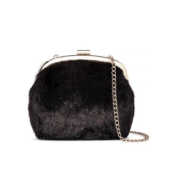 Who What Wear Fur Mini Bag