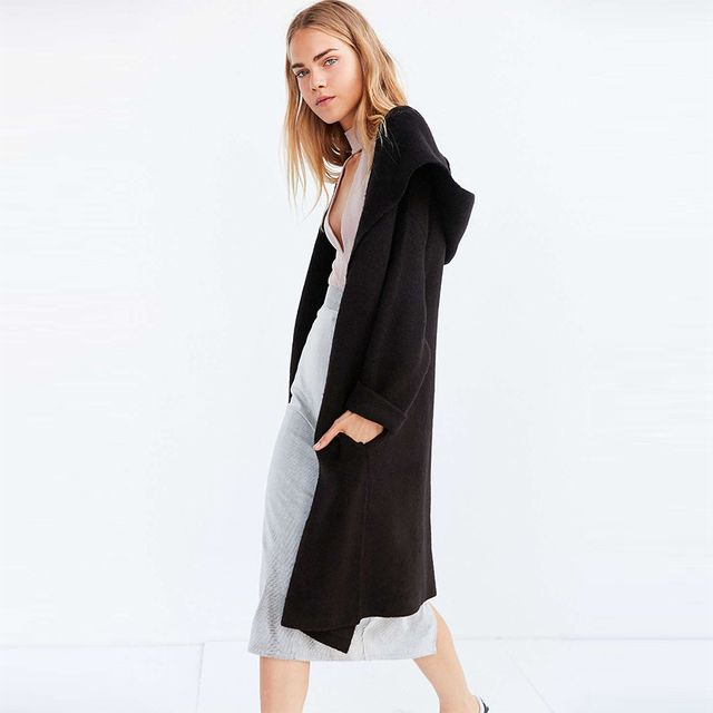 H&M Long Sweatshirt Cardigan