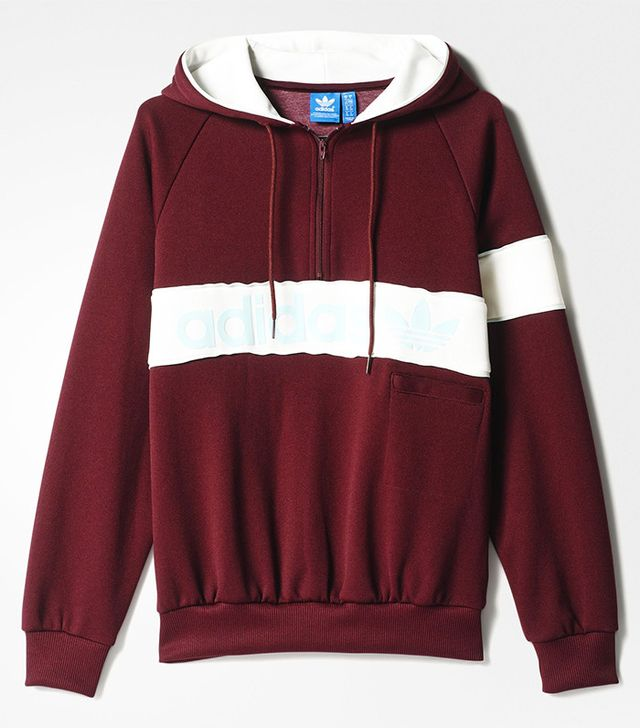 Adidas Originals New York 1986 Hoodie Sweatshirt - Maroon