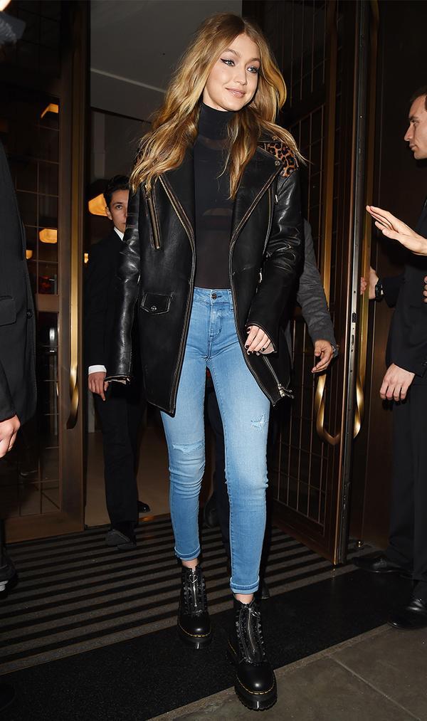 gigi hadid skinny jeans