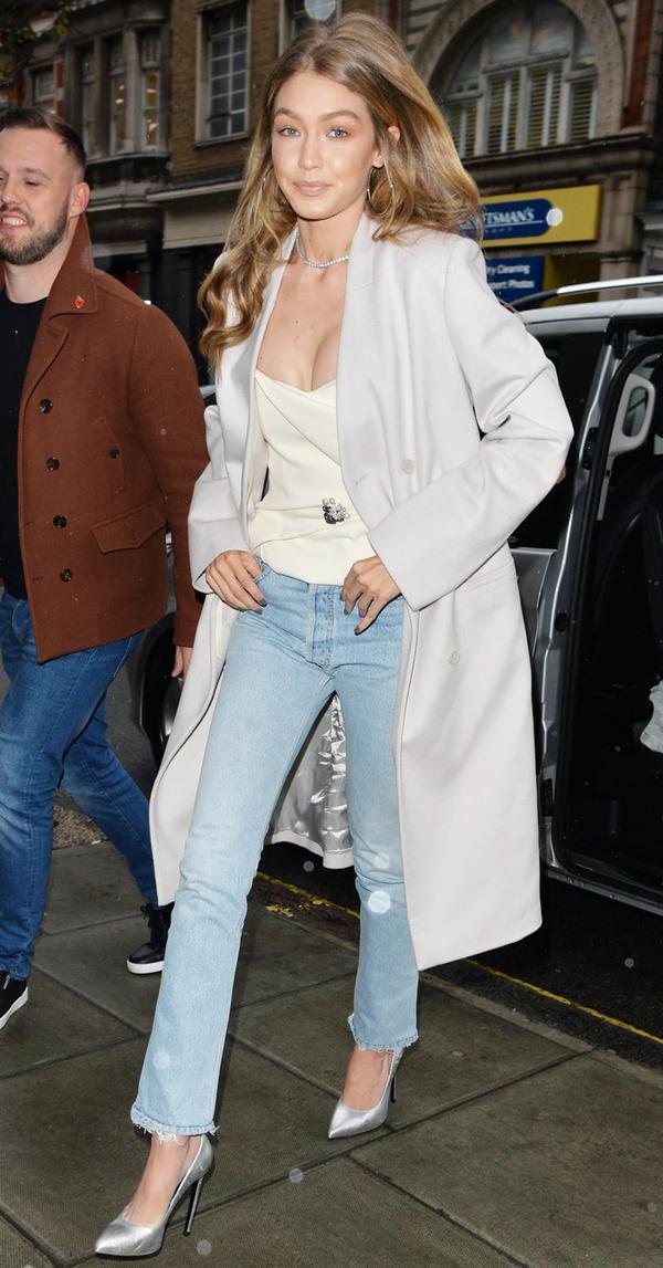 Gigi Hadid Denim Outfit