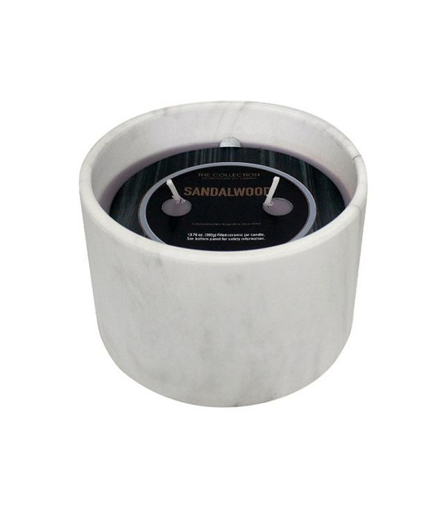Urban Collection Sandalwood Marble Jar Candle