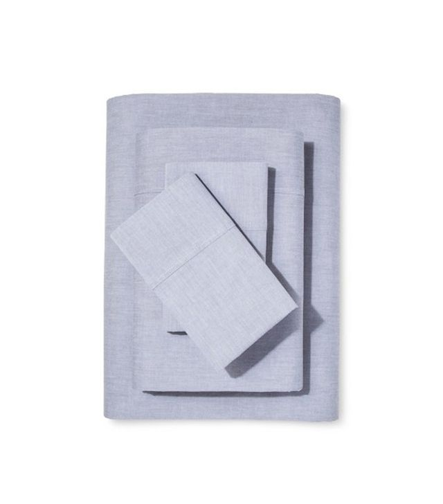 Target Chambray Sheet Set