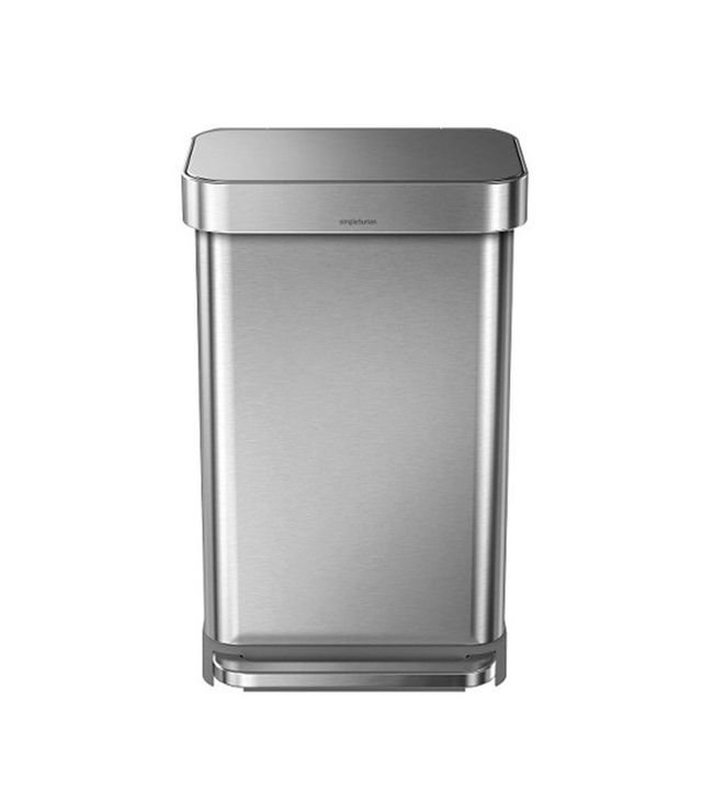 Simplehuman Studio Stainless Steel Step Trash Can