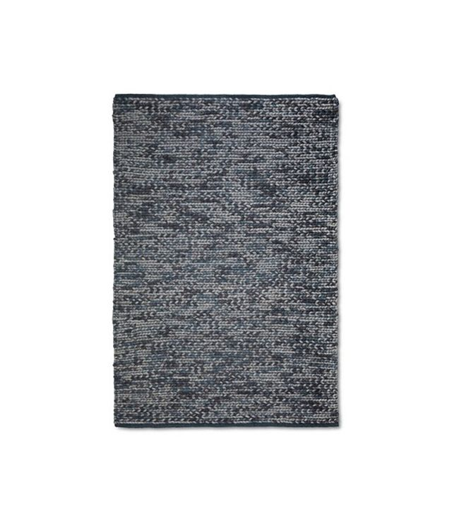 The Industrial Shop Chunky Knit Braided Wool Rug