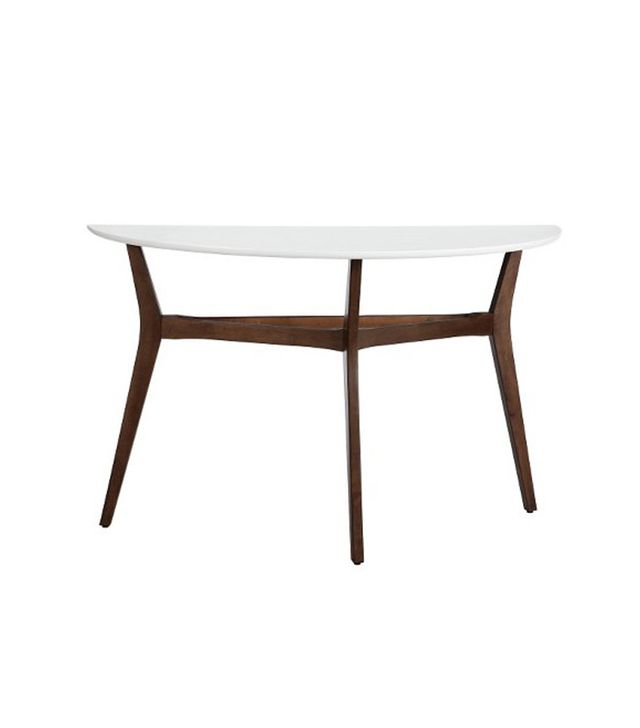 Target Two-Tone Mid Century Modern Console Table