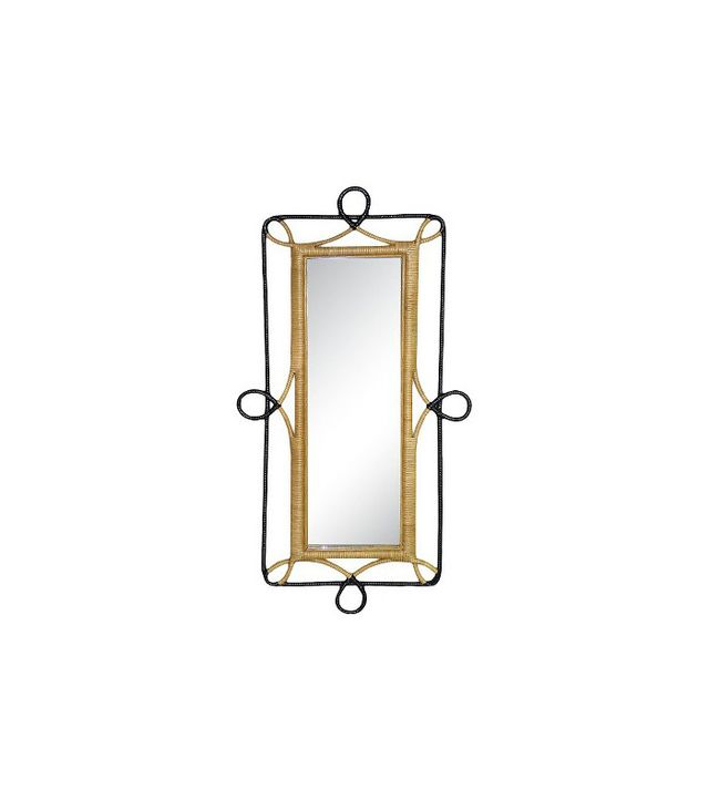 Nate Berkus for Target Rectangular Rattan Wall Mirror