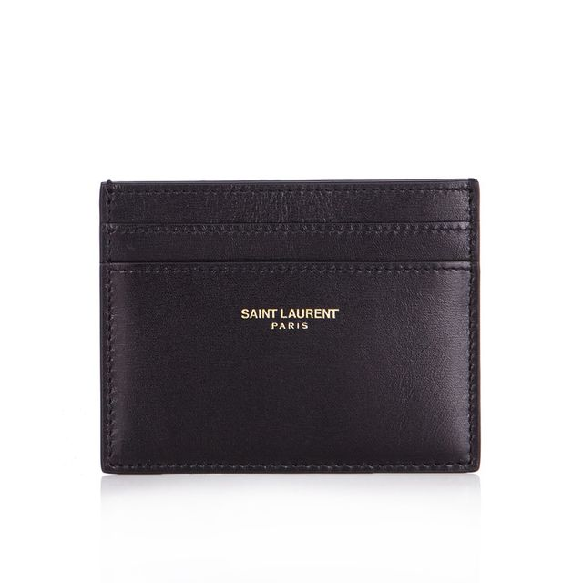 Saint Laurent Smooth Leather Cardholder