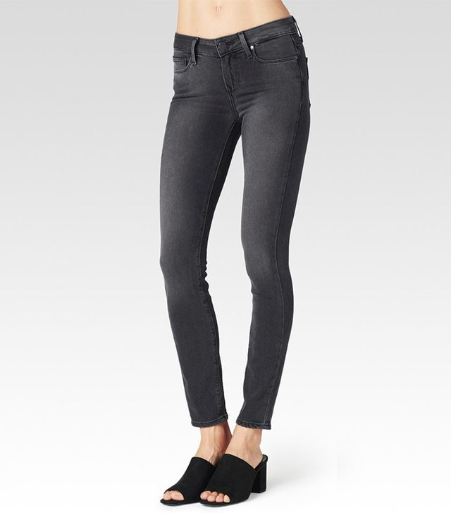 Paige Verdugo Ankle Jean in Smoke Grey