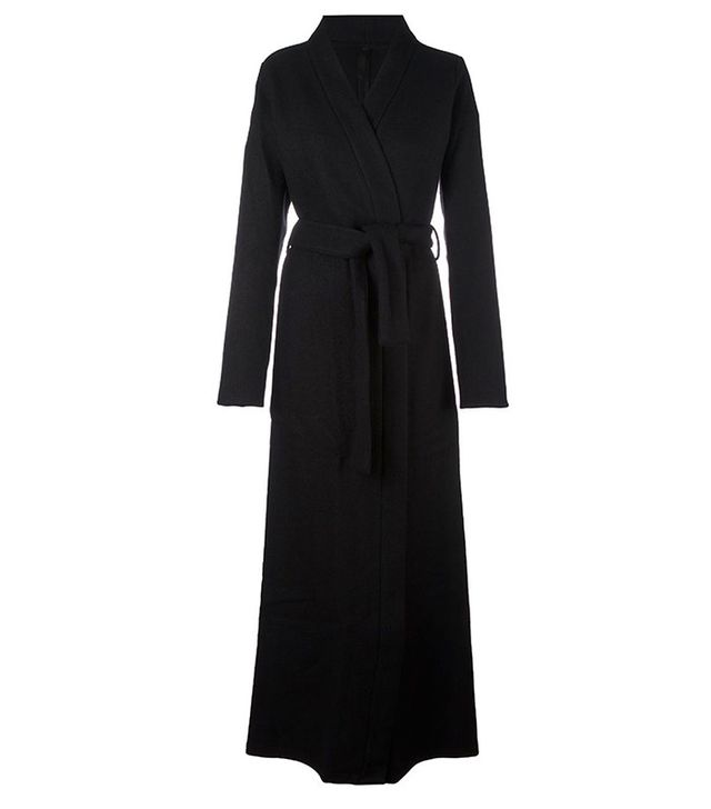 Unravel Project Wrap Long Coat