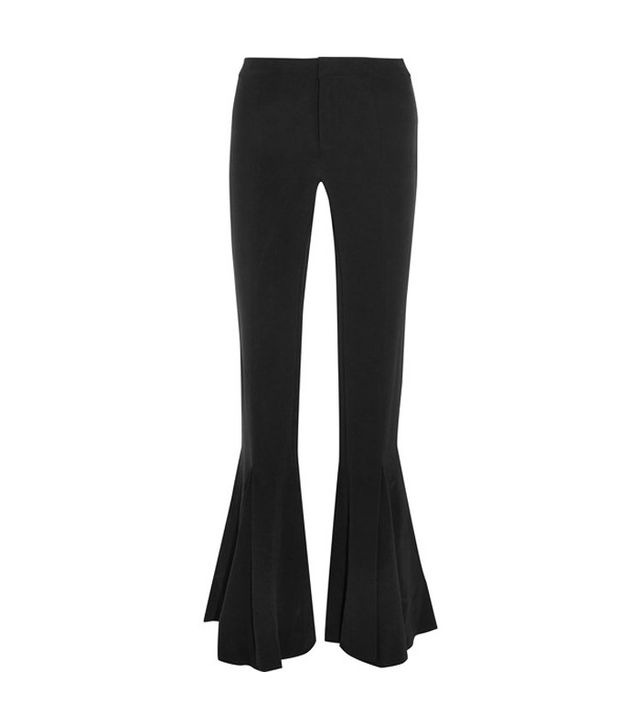 Maggie Marilyn Dreamer Silk Crepe de Chine Flared Pants