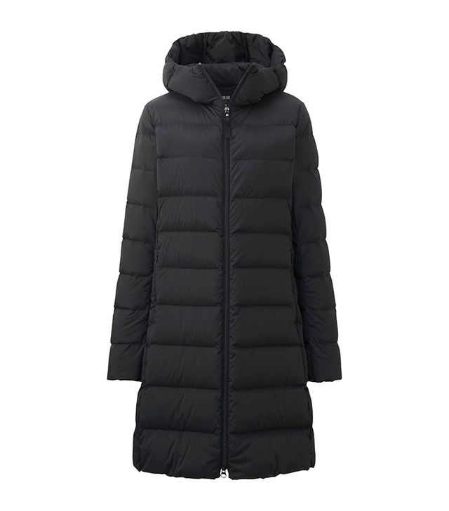 Uniqlo Women Ultra Light Down Stretch Hooded Coat