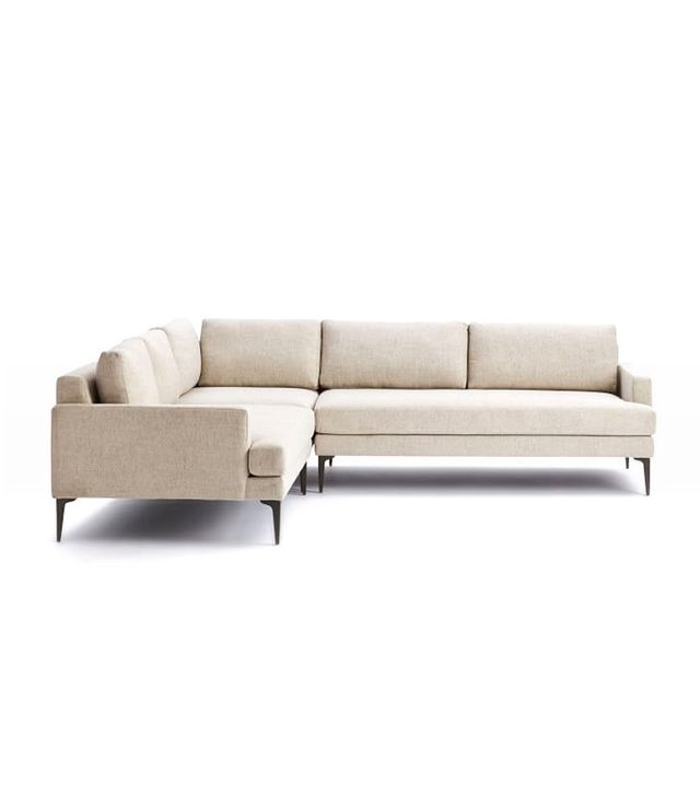West Elm Andes 3-Piece Sectional