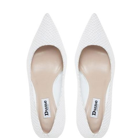 Abbigail Mid Heel Court Shoe