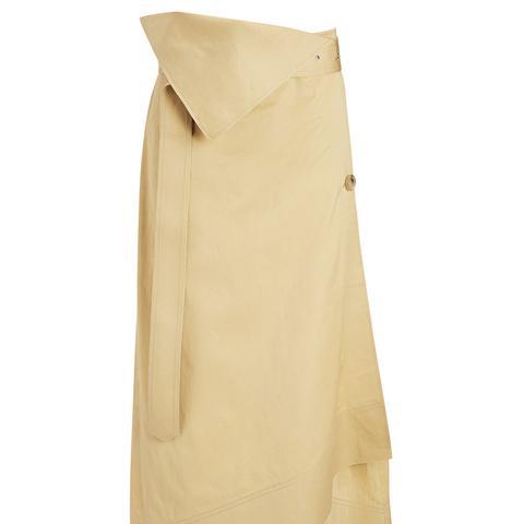 Bonded Sateen Shirting Berwick Skirt