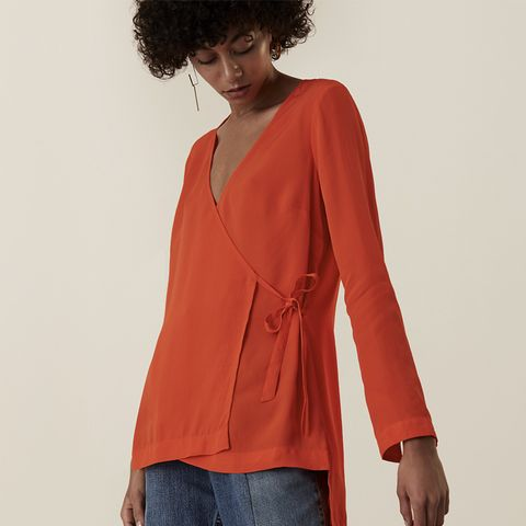 Chesholm V Front Wrap Top