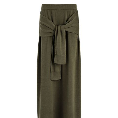 Cotton Tie Skirt