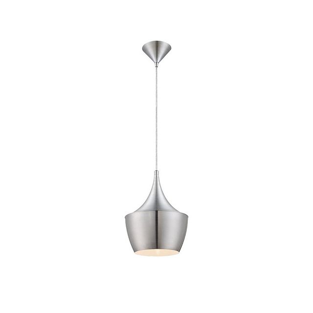 Home Decorators Collection Brushed Aluminum Pendant Light