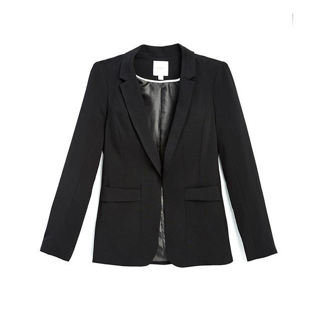 Candie's Open-Front Blazer