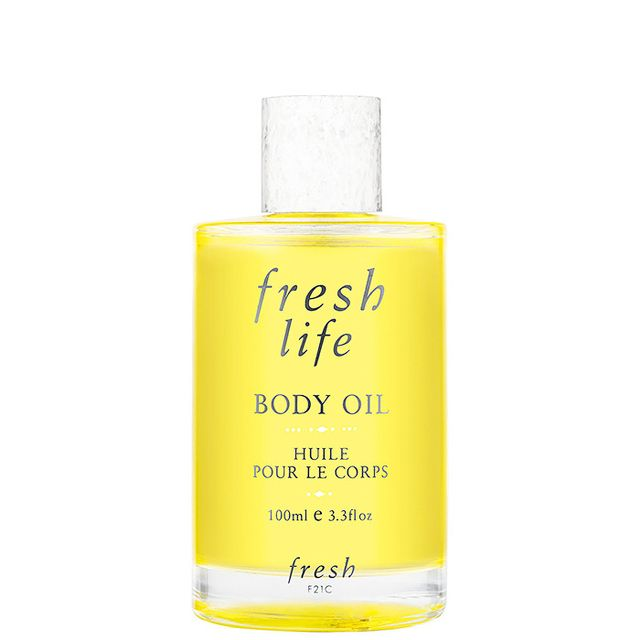 soothing body oil
