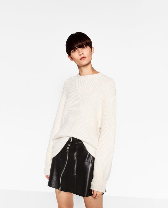 Zara Puff Sleeve Sweater