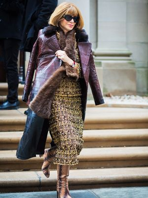 Even Anna Wintour Breaks This Fashion Rule