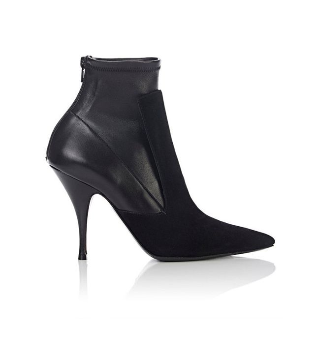 Givenchy Back-Zip Ankle Boots